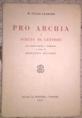 Pro Archia e scelta di lettere