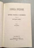 L' OSSOLA INFERIORE  Notizie Storiche E Documenti