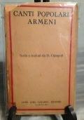 Canti popolari Armeni – Poesia