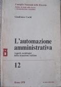 L'automazione amministrativa. Aspetti sociologici della situazione italiana