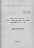 STRUTTURE MURARIE DEGLI EDIFICI RELIGIOSI DI ROMA NEI SECOLI VI-IX E XII