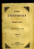 STORIA UNIVERSALE TOMO VII PARTE I