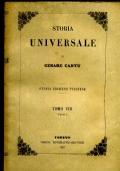 STORIA UNIVERSALE TOMO VIII PARTE I