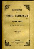 DOCUMENTI ALLA STORIA UNIVERSALE TOMO SESTO PARTE II