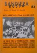 BANDIERA ROSSA Giornale dell'Associazione Quarta Internazionale n. 62 settembre 1996
