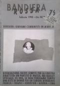 BANDIERA ROSSA Giornale dell'Associazione Quarta Internazionale n. 74 novembre 1997