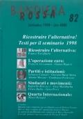 BANDIERA ROSSA Giornale dell'Associazione Quarta Internazionale n. 32 marzo '93