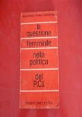 N.SPANO, F.CAMARLINGHI-LA QUESTIONE FEMMINILE NELLA POLITICA DEL P.C.I.-ED.DONNE