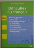 Difficultés du français.
