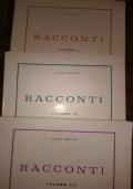 RACCONTI (tre volumi)