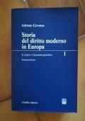 Storia del diritto moderno in Europa. Le fonti ed il pensiero giuridico