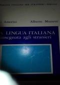 La lingua italiana insegnata agli stranieri