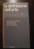 UMBERTO ECO - LA DEFINIZIONE DELL'ARTE - GARZANTI 1978