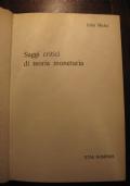 JOHN HICKS - SAGGI CRITICI DI TEORIA MONETARIA - ETAS KOMPASS - 1971