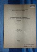Il differenziametno citologico ed istologico dei meristemi cambiali in vitro