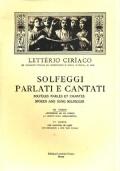 SOLFEGGI PARLATI E CANTATI - III CORSO