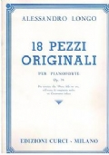 18 PEZZI ORIGINALI per pianoforte Op. 74