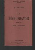 LE ORIGINI NEOLATINE, A CURA DEL P.E. GUARNERIO