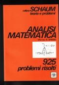 ANALISI MATEMATICA 925 Problemi risolti.