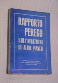 RAPPORTO PEREGO SULL'AVIAZIONE DI ALTRI PIANETI