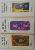 Lotto 3 volumi (Folk, canzoni e poesie - Canzoni d'amore e di protesta - Blues ballate e canzoni) con testo originale a fronte