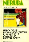 LIBRO DELLE DOMANDE - ELEGIA IL MARE E LE CAMPANE DIFETTI SCELTI