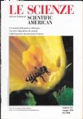 LE SCIENZE  edizione italiana di SCIENTIFIC AMERICAN