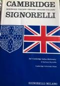 CAMBRIDGE DIZIONARIO ITALIANO-INGLESE/INGLESE-ITALIANO