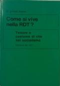 UNA POLITICA PER IL BENESSERE DELL'UOMO Informazioni sulla RDT