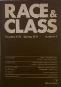 RACE & CLASS - Volume XVII Summer 1975 Number 1