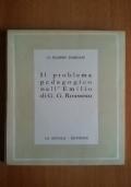 Il problema pedagogico nell'Emilio di G.G. Rousseau