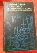 Storia della letteratura italiana con antologia degli scrittori e dei critici - Volume secondo