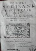 Caroli Scribani E Societate Iesu politico christianus Recens in Galliis in lucem emissus, cum Indice uberrimo