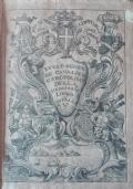 Ruolo generale de' Cavalieri Gerosolimitani della veneranda lingua d'Italia Raccolto dal Com. Bartolomeo Del Pozzo per fin' all'anno 1689. Continuato dal Com. Roberto Solaro di Govone per tutto l'anno 1713