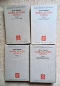 storia di roma antica 4 tomi ( vol I tomo I e II, vol II tomo I e II )