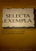 SELECTA EXEMPLA