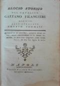 Elogio storico del cavalier Gaetano Filangieri