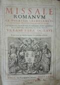 Missale romanum Ex decreto sacrosancti Concilii Tridentini restitutum