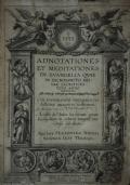 Dictionarium historicum, criticum, chronologicum, geographicum, et literale Sacrae Scripturae. Cum figuris antiquitates judaicas repraesentatibus authore R.P.D. Augustino Calmet