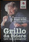 GRILLO DA RIDERE (PER NON PIANGERE)