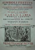 Componimenti de' pastori arcadi della colonia Sebezia