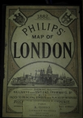 Philips' map of London