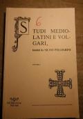 Studi Mediolatini e volgari Fondati da Silvio Pellegrini Volume L