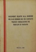 NUOVO COMPLOTTO DEI REVISIONISTI KRUSCIOVISTI CONTRO GLI INTERESSI DEI POPOLI DEI PAESI SOCIALISTI