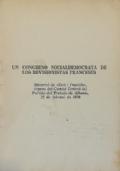 UN CONGRESO SOCIALDEMOCRATA DE LOS REVISIONISTAS FRANCESES Editorial de Zëri i Popullit, órgano del Comité Central del Partido del Trabajo de Albania, 21 de febrero de 1976