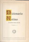 Dizionario Netino di scienze lettere ed arti, 1 facicolo, lettera A-F
