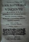 Institutionum juris naturalis Vincentii Micelii