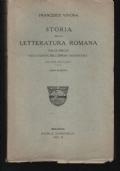 STORIA DELLA LETTERATURA ROMANA, DALLE ORIGINI ALLA CADUTA DELL'IMPERO OCCIDENTALE