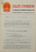 BULLETIN D'INFORMATION de l'Ambassade de la République Populaire de Chine - Berne - N. 245 le 19 septembre 1968