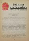 BOLLETTINO D'INFORMAZIONE Ambasciata della Repubblica Popolare Cinese nella Repubblica Italiana - Roma - N. 3 il 14 febbraio 1972